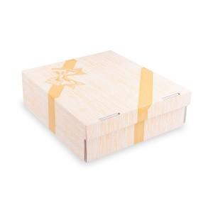 Krabica na tortu -celoplošná potlač- 28x28x10 cm [100 ks]