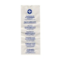 Hygienické papierové vrecká 11+4 x 28 cm [100 ks]