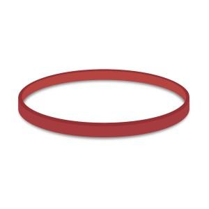 Gumičky červené silné (5 mm, Ø 10 cm) [1 kg]