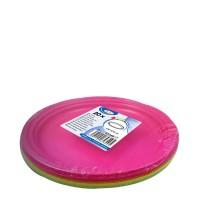 Tanier farebný mix (PS) Ø 22 cm [20 ks]