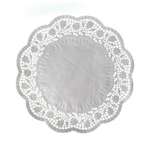 Dekoračné krajky okrúhle Ø 36 cm [6 ks]