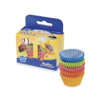 Cukrárenské košíčky farebné mix Ø 25 x 18 mm [200 ks]