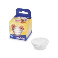 Cukrárenské košíčky biele Ø 35 x 20 mm [100 ks]
