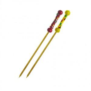 Bambusové napichovadlá ŠNÚRKA 12 cm [100 ks]