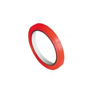 Lepiaca páska pre zatvárací strojček, červená 66mx9mm [1 ks]
