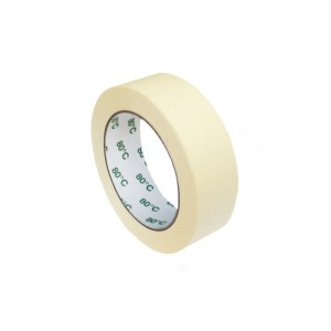 Lepiaca páska krepová, biela 50 m x 30 mm (do -80°C) [1 ks]