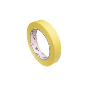 Lepiaca páska krepová, žltá 50 m x 19 mm [1 ks]