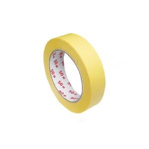 Lepiaca páska krepová, žltá 50 m x 25 mm [1 ks]