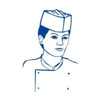Kuchárske čiapky z papiera, lodičky biele [25 ks]