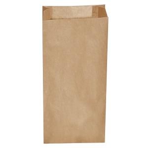 Desiatové pap. vrecká hnedé 5 kg (20+7 x 43 cm) [500 ks]