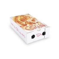 Krabica na pizzu CALZONE 28 x 17 x 7,5 cm [100 ks]
