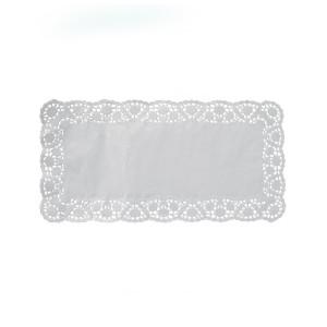 Dekoračné krajky hranaté 20 x 40 cm [100 ks]