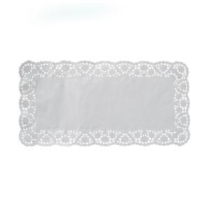 Dekoračné krajky hranaté 25 x 38 cm [100 ks]