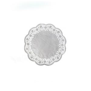 Dekoračné krajky okrúhle Ø 10 cm [500 ks]