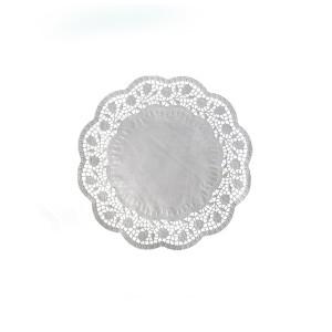 Dekoračné krajky okrúhle Ø 16 cm [100 ks]