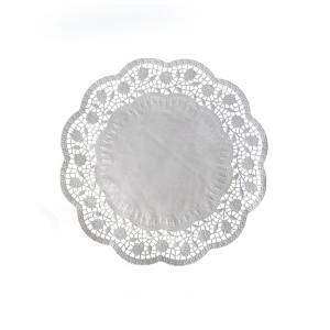 Dekoračné krajky okrúhle Ø 24 cm [100 ks]