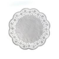 Dekoračné krajky okrúhle Ø 28 cm [100 ks]