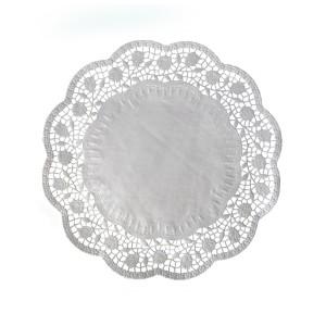 Dekoračné krajky okrúhle Ø 30 cm [100 ks]