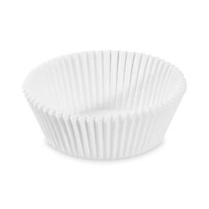 Cukrárenské košíčky biele Ø 60 x 27 mm [1000 ks]