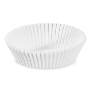 Cukrárenské košíčky biele Ø 70 x 20 mm [1000 ks]