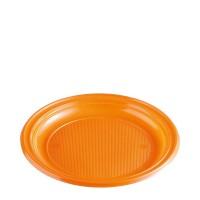 Tanier oranžový (PS) Ø 22 cm [30 ks]