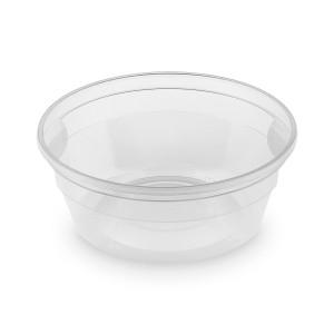 Polievková miska priehľadná (PP) 350 ml, Ø 127 mm [50 ks]