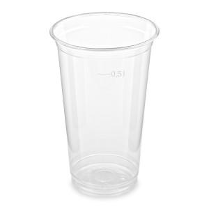Pohár z PET 0,5 l (Ø 95 mm) [50 ks]