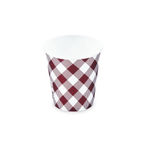Papierový pohár KARO 200 ml, S (Ø 73 mm) [50 ks]