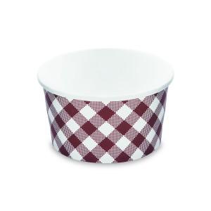 Papierová miska okrúhla KARO 350 ml, S (Ø 115 mm) [50 ks]