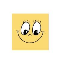 Servítky-obrúsky 3-vrstvé, 33 x 33 cm SMILING FACE [20 ks]