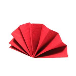 Servítky-obrúskyDekoStar 40 x 40 cm červené [40 ks]