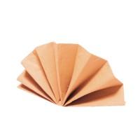 Servítky-obrúsky DekoStar 40 x 40 cm apricot [40 ks]