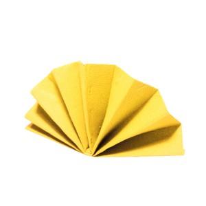 Servítky-obrúsky DekoStar 40 x 40 cm žlté [40 ks]