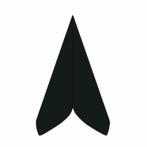 Servítky-obrúskyPREMIUM 40 x 40 cm čierne [50 ks]