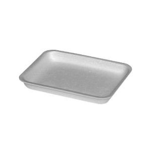 Podložná miska biela S3, 225 x 175 x 41 mm (EPS) [1000 ks]