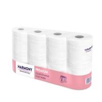 """Toaletný papier tissue 3-vrstvý """"Harmony Professional"""" 250 útržkov [8 ks]"""